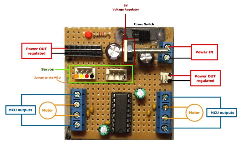 Control your motors with l293d let 39 s make robots for L293d motor driver datasheet