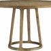 Baker round pedestal dining table