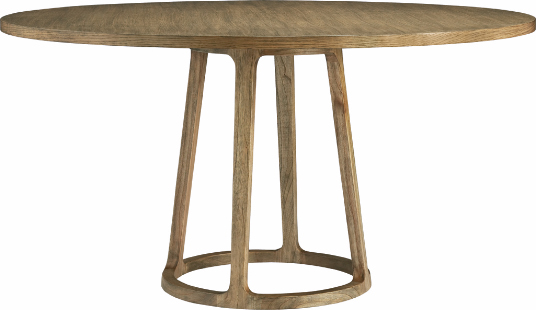baker round pedestal dining table