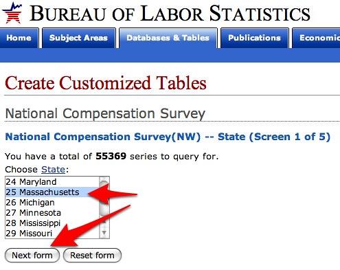 bureau of labor statistics data flickr photo