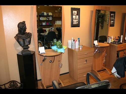 Kitchen Hair Salon : Beauty parlour interior design images
