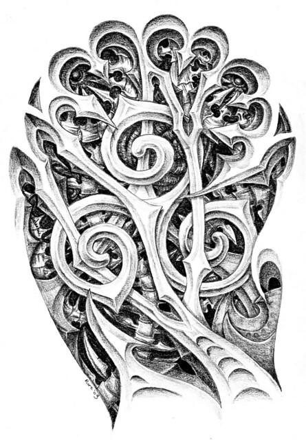 Tattoo Art Style Drawings