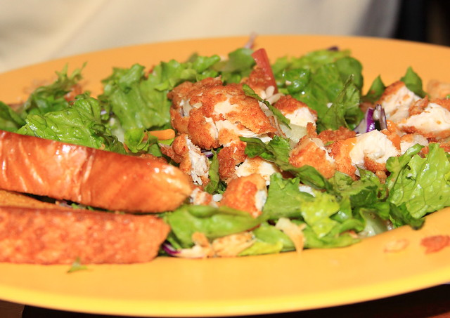 Zaxby 39 S Salad Flickr Photo Sharing