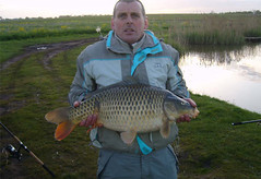 18lb 3oz Common caught on pellet on Moss Lake, Friday 1st May by Graham.
