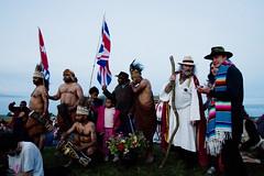 Stonehenge Summer Solstice 2009 - West Papua Delegation