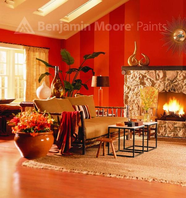 orange and red living room flickr photo sharing. Black Bedroom Furniture Sets. Home Design Ideas
