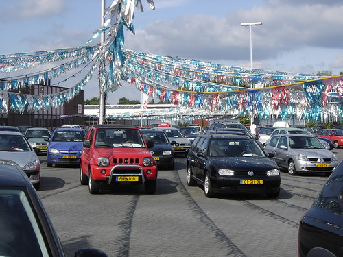 Golf Cars For Sale >> Utrecht: Used Car Sales | Looks like an American used cars s… | Flickr