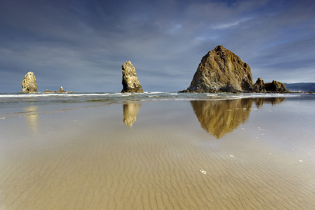 Needles and a Haystack #1 - Cannon Beach, Oregon