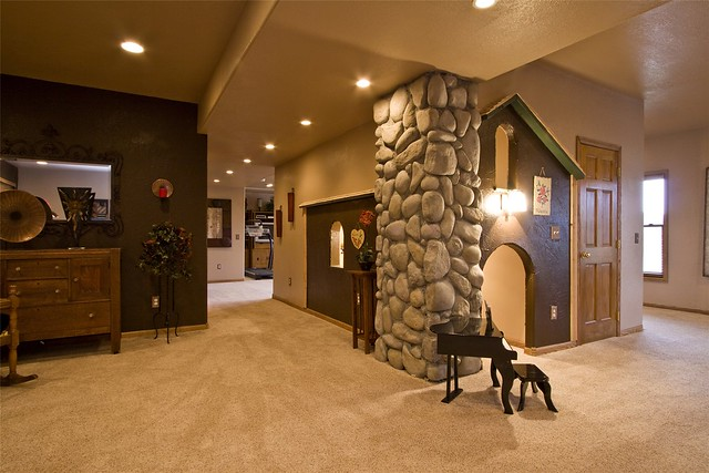 Finished walk out basement flickr photo sharing for Walk in basement