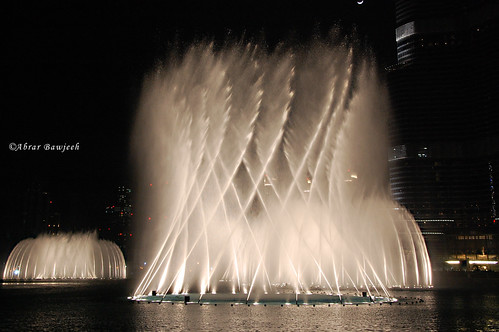 Fountain dancer - Dubai
