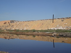 Leachate containment in Pulau Burung Landfill