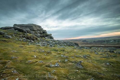 sunset sky seasons devon dartmoor haytor lightroom5