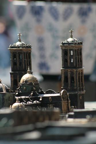 Maqueta de la Catedral de Puebla
