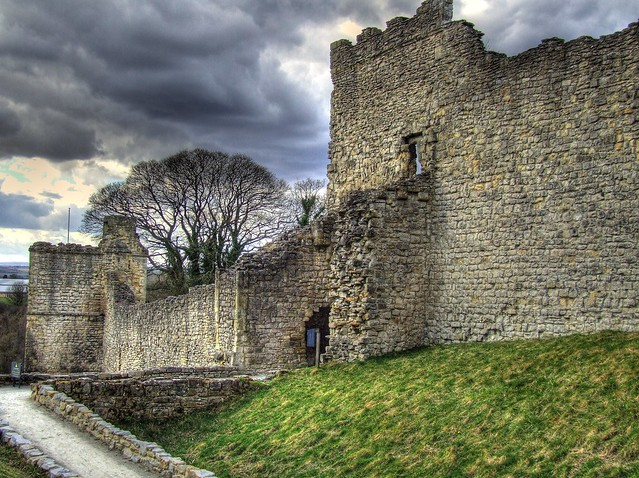 Pickering Castle HDR
