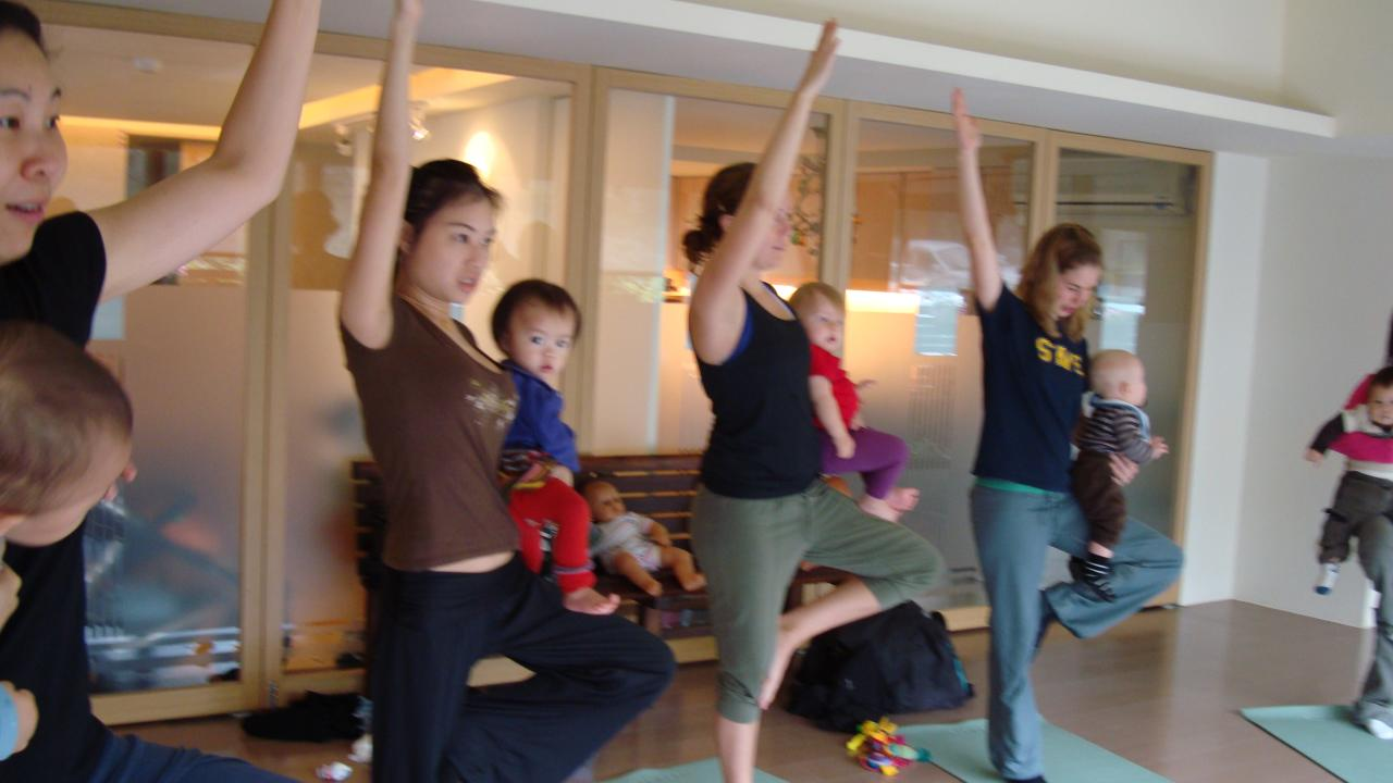 baby yoga at  windmill