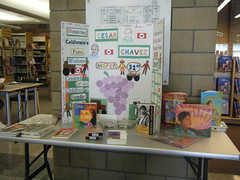 Cesar Chavez display