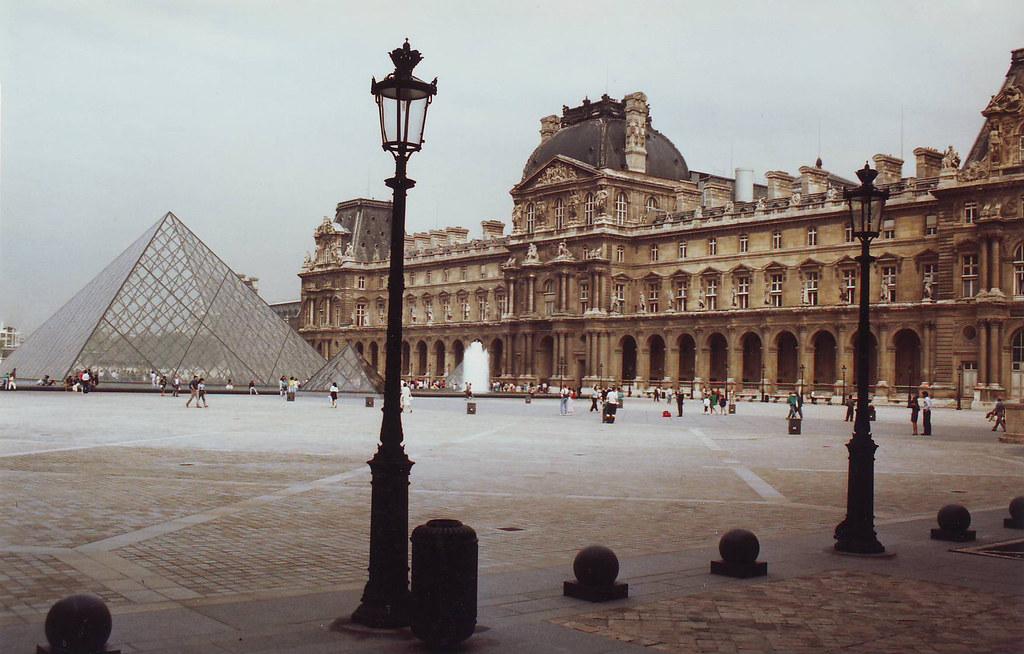 The Louvre Museum Paris 1989