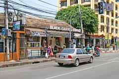 Coffee shop next to Tha Phae Gate in Chiang Mai