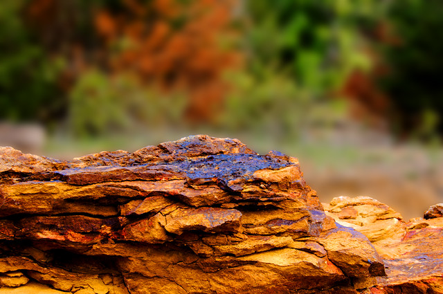 Grapevine Lake rocks - #0313-0316 (redux)