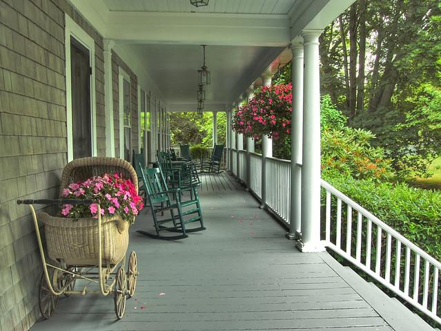 Cape cod porch flickr photo sharing for Cape cod porch