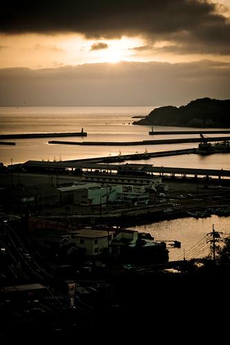 sunset roadtrip shimane hamada goldenweek 島根 島根県 efs1855mmf3556is