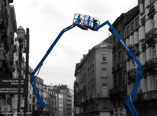 Le blues des grues - Bruxelles