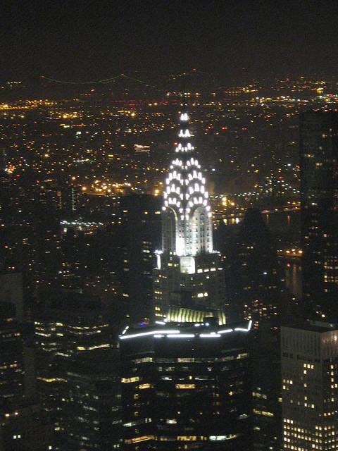 Chrysler Building At Night Flickr Photo Sharing