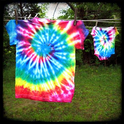 bleach tie dye instructions
