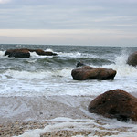 Glacial Erratics and Waves at Wildwood State Park