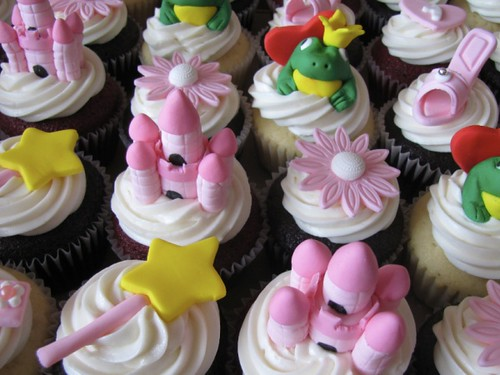 Princess Cupcake Decorations