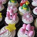 Pink Princess Birthday Cupcakes