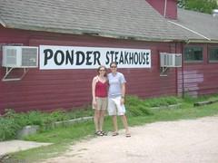 ponder steakhouse