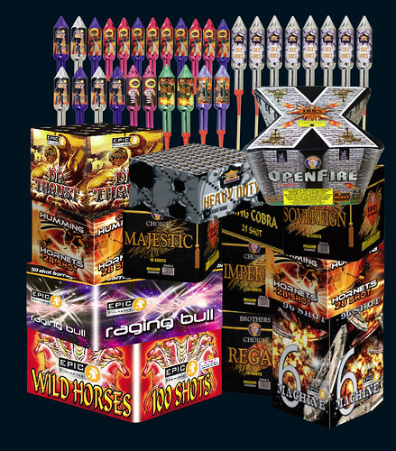 Conspiracy D.I.Y Firework Kit