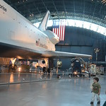 Steven F. Udvar-Hazy Center: Space Shuttle Enterprise (port view panorama)