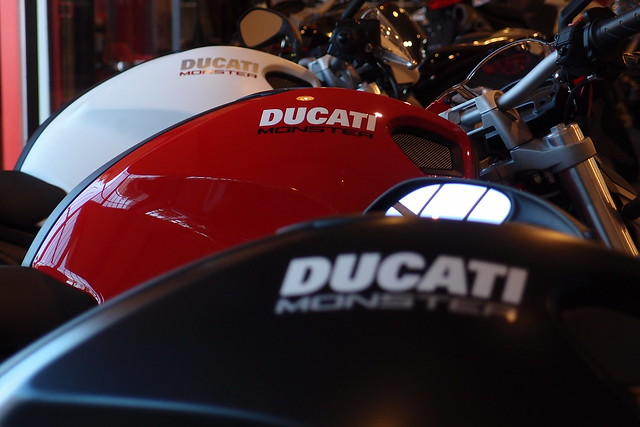 Ducati Monster Photography