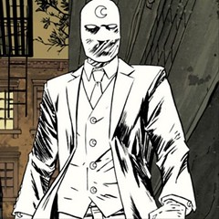 Moon Knight ditched the cape and hood for an all white three piece suit. Now that is a stylish way to fight crime. #style #allwhite #moonknight #marvel