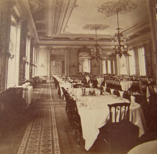 St Nicholas Hotel Dining Room Ny 1870 S Flickr Photo