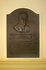 NJ - Jersey City: Liberty State Park - CRRNJ Terminal - William George Besler plaque