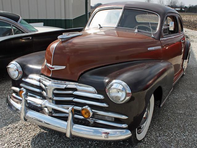 1948 chevrolet fleetmaster 2 door coupe 1 of 4 for 1948 chevy 2 door
