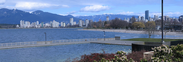 Kits Beach March 22, 2009