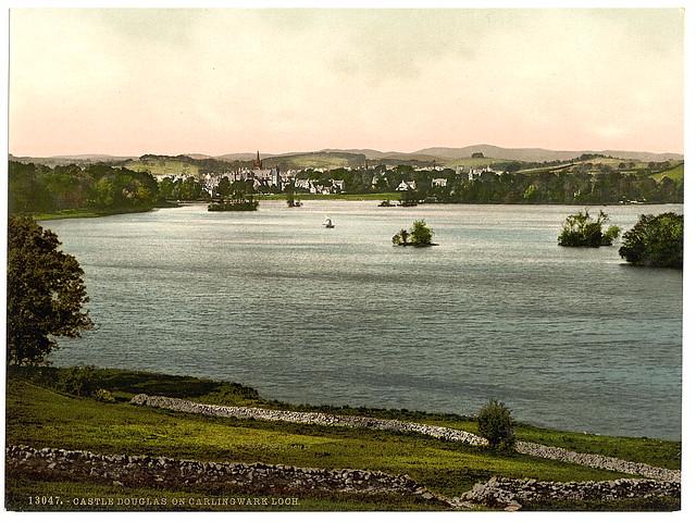 [On Carlingwark Loch, Castle Douglas, Scotland] (LOC)