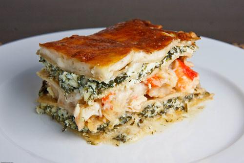 Seafood Lasagna   Flickr - Photo Sharing!