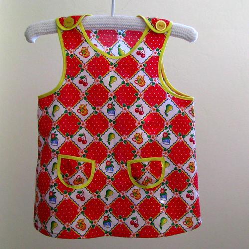 Retro Teatime Pocket Dress