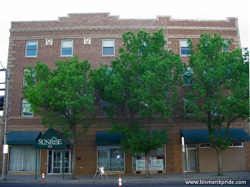 building hotel downtown north prince historic horn van bismarck dakota hughes edmund