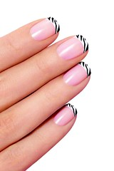 nail care, magenta, finger, artificial nails, nail polish, nail, pink, manicure, cosmetics,