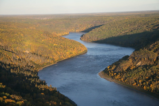 Athabasca River - south of Fort McMurray, Alberta 2.