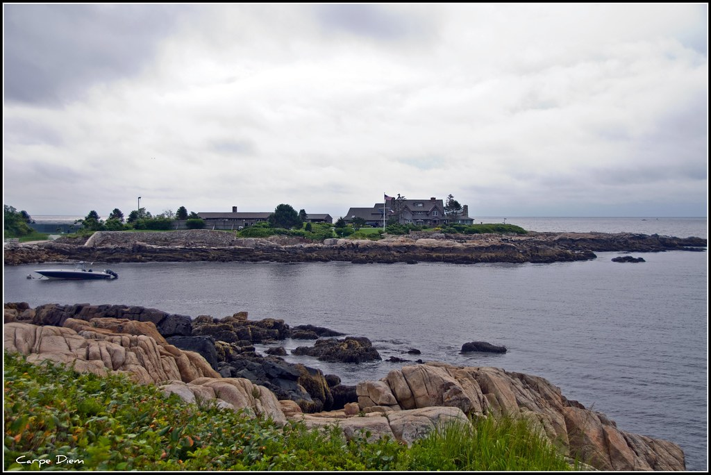 The Bush Summer Home At Kennebunkport Maine Believe It Or Flickr