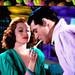 Movie Star Rita Hayworth Lights Up by Walker Dukes