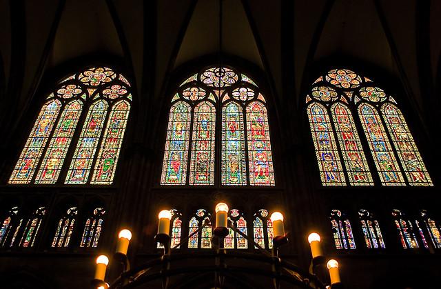 Cathédrale de Strasbourg vitraux