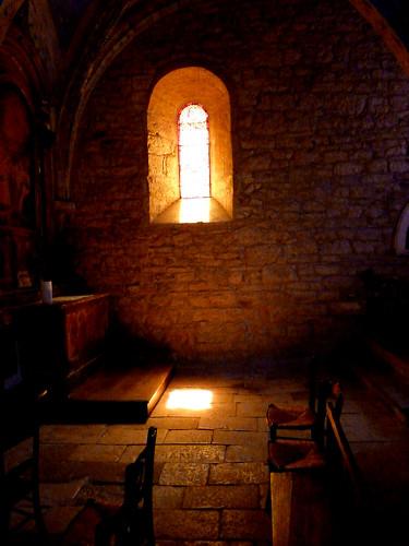 13th century Church in Loubressac, France